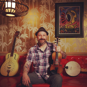 David Bragger at the Old-Time Tiki Parlour
